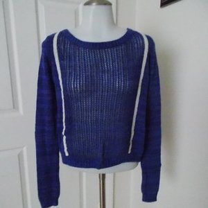 shrinking violet women's pullover sweater size S